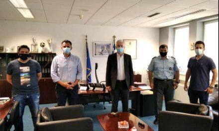 ΑΝ.Α.Σ.Α : Συνάντηση με τον Διευθυντή Διεύθυνσης Αστυνόμευσης Αερολιμένα Αθηνών Ταξίαρχο ΜΑΡΚΟΠΟΥΛΟ Κων/νο για ζητήματα υποστελέχωσης Υπηρεσιών Δ.Α.Α.Α και προσθήκης πάρεργων στην υπηρεσιακή καθημερινότητα