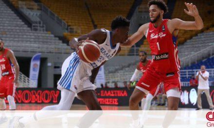 Ελλάδα – Πουέρτο Ρίκο 77-69: Έτσι έκανε το 2/2 η Εθνική στο τουρνουά Ακρόπολις