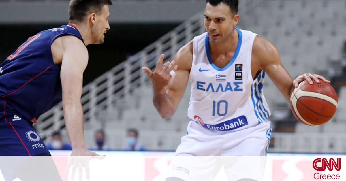 Ελλάδα – Σερβία: Ήττα με 64-75 και «καμπανάκι» ενόψει Προολυμπιακού τουρνουά