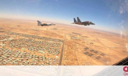 Falcon Eye-2»: Εντυπωσιακές εικόνες και βίντεο από την άσκηση Ελλάδας – Σαουδικής Αραβίας