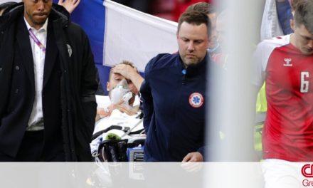 UEFA: Σε σταθερή κατάσταση νοσηλεύεται ο Κρίστιαν Έρικσεν