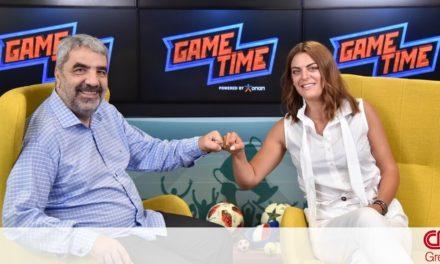 Ο Γιώργος Χελάκης στο ΟΠΑΠGame Time: «Ο έκτοςόμιλος θα βγάλει τον νικητή»