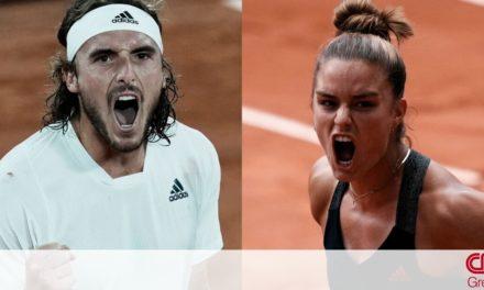 Τσιτσιπάς – Σάκκαρη: Στα ημιτελικά του Roland Garros – Πότε θα μεταδοθούν οι αγώνες