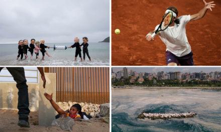 Οι Έλληνες που μαθαίνουν τένις, η σύνοδος των G7 και η «γλίτσα» στον Μαρμαρά