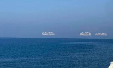 «Αιωρούμενα» κρουαζιερόπλοια στη Λεμεσό – Τι είναι το φαινόμενο Φάτα Μοργκάνα