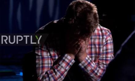 Τα δάκρυα στην τηλεόραση, η ομολογία και οι έπαινοι στον Λουκασένκο