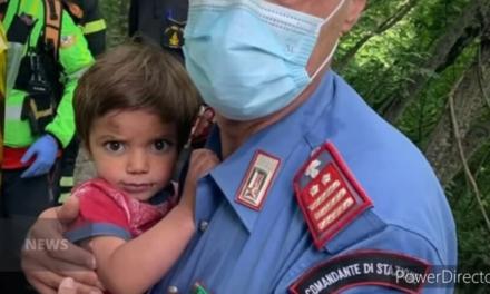 Βρέθηκε ο 2χρονος που είχε εξαφανιστεί από το σπίτι του σε ορεινή περιοχή της Τοσκάνης
