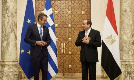 Μητσοτάκης: Αίγυπτος και Ελλάδα υπηρετούν τη σταθερότητα και την ασφάλεια στην Αν. Μεσόγειο