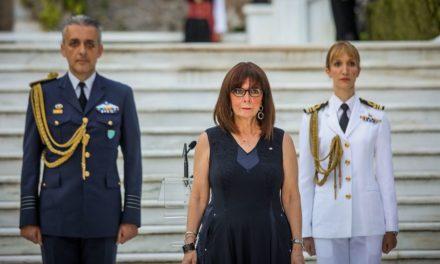 Eπέτειος αποκατάστασης Δημοκρατίας: Πρόσωπα και συμβολισμοί με σημασία από την Σακελλαροπούλου
