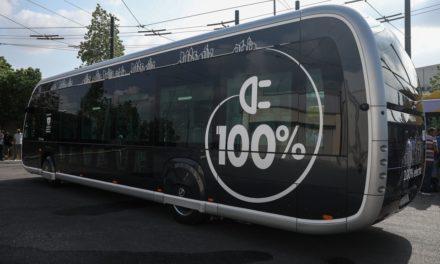Ξεκίνησαν δοκιμές και πέμπτου ηλεκτρικού λεωφορείου στην Αθήνα