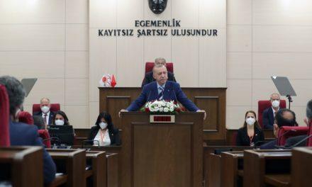 Εμπρηστικός Ερντογάν: Εθνική υπόθεση της Τουρκίας το Κυπριακό, δεν θα χάσουμε άλλα 50 χρόνια
