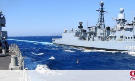 ΓΕΝ: Συνεκπαίδευση ναυτικών δυνάμεων Ελλάδας – Γερμανίας στο Αιγαίο