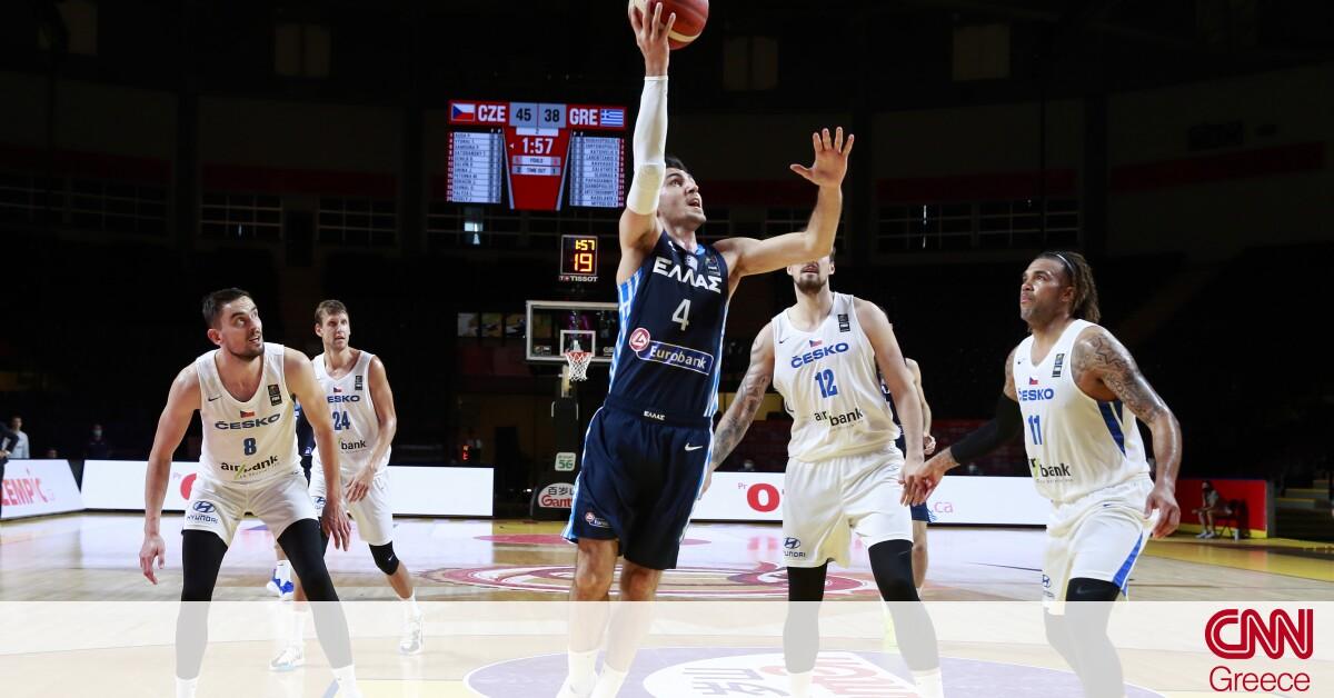 Τσεχία – Ελλάδα 97-72: Έχασε το εισιτήριο για τους Ολυμπιακούς Αγώνες η Εθνική