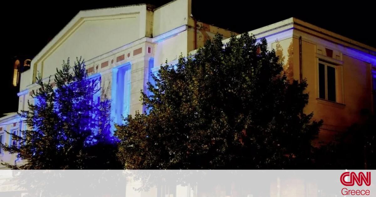 Ολυμπιακοί Αγώνες Τόκιο: Στα χρώματα της γαλανόλευκης το Δημαρχείο Γρεβενών για τον Τεντόγλου