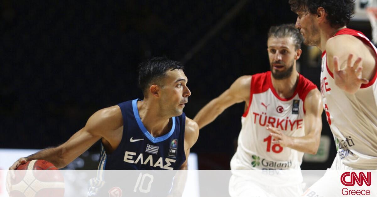 Τουρκία – Ελλάδα 63-81: Άλλο ένα βήμα πιο κοντά στο Τόκιο η εθνική
