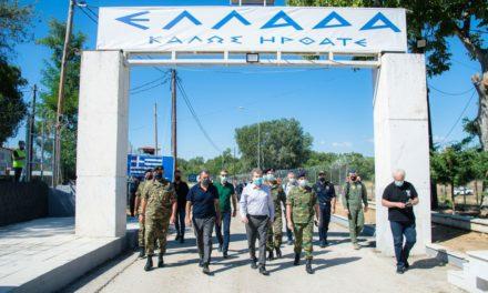 Επίσκεψη Χρυσοχοΐδη-Παναγιωτόπουλου στον Έβρο: Τα σύνορά μας θα παραμείνουν ασφαλή