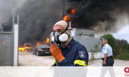 Οι Ένοπλες Δυνάμεις στα μέτωπα των πυρκαγιών – Εντατικοποιούνται οι περιπολίες