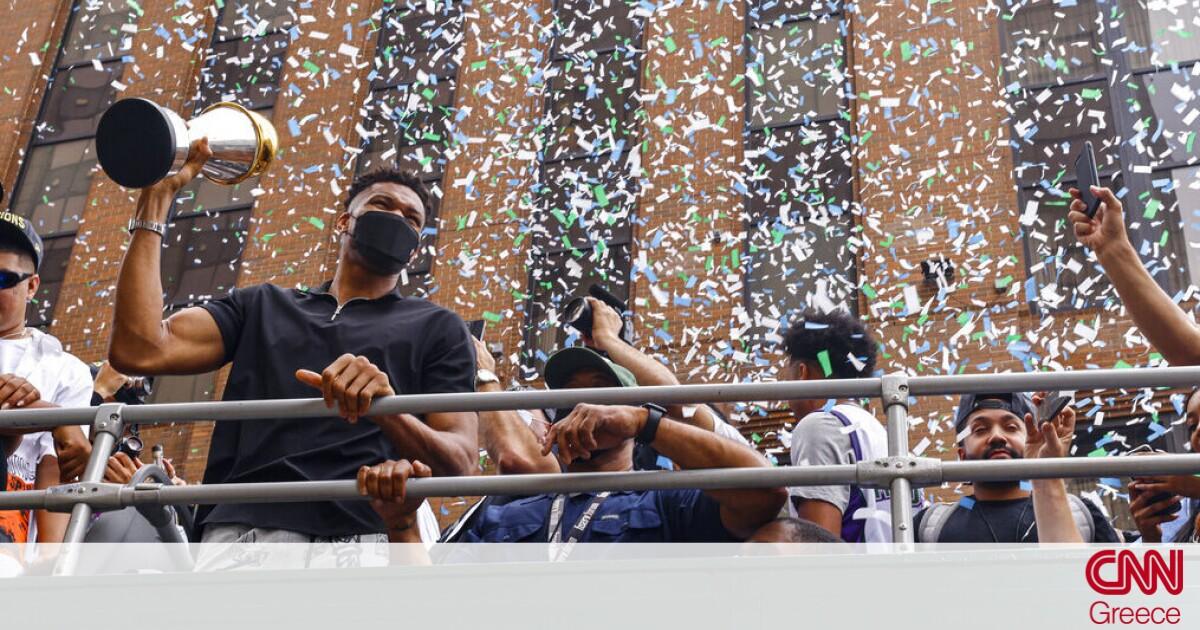 Γιάννης Αντετοκούνμπο: Χαίρομαι που φέραμε το τρόπαιο, να ζήσουμε τέτοιες στιγμές και με την Εθνική