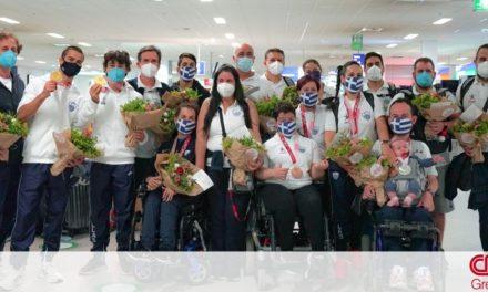 Με 11 μετάλλια επέστρεψε η Ελληνική Παραολυμπιακή Ομάδα από το Τόκιο – Συγχαρητήρια από τον ΟΠΑΠ