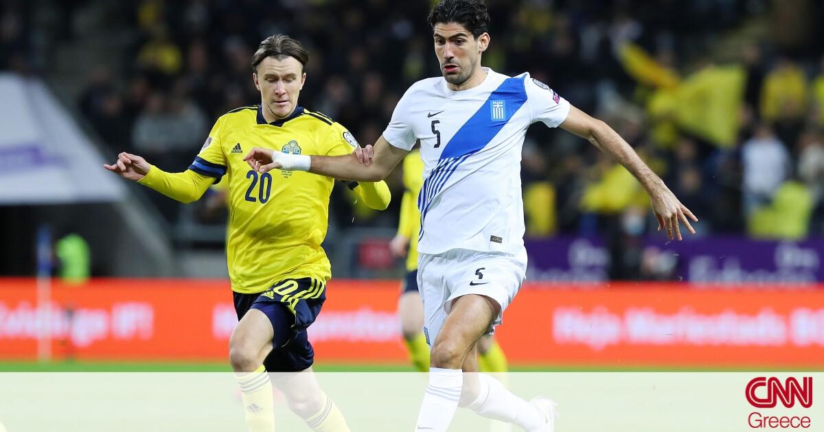 Σουηδία-Ελλάδα 2-0: Κατέρρευσε μετά το πέναλτι και λέει «αντίο» στο Μουντιάλ του Κατάρ