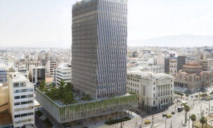 Βιοκλιματικό κτήριο θα γίνει ο Πύργος Πειραιά