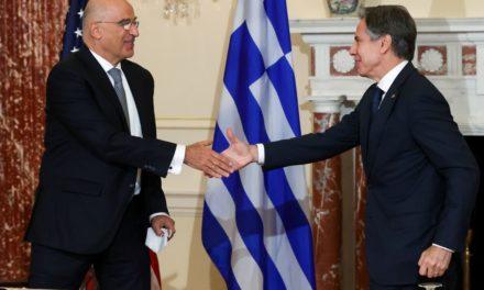 Αμυντική συμφωνία Ελλάδας – ΗΠΑ: Επεσαν υπογραφές Μπλίνκεν – Δένδια
